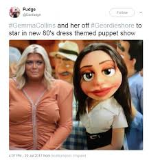 Gemma Collins Memes - gemma collins s dress is mocked with memes on twitter daily mail