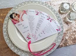 petal fan wedding programs wedding fan program petal fan program logie paperie logie