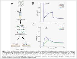 surface plasmon resonance immunosensor for detection of pb1 f2