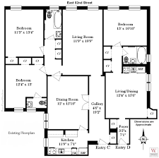 nyc floor plans gorgeous design architecture visio template business outline