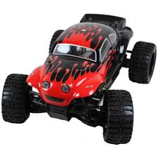 rc baja truck 1 10 electric rc baja buggy splat attack red
