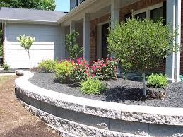 nice black lava rock landscaping designs ideas and decor
