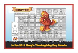 thanksgiving day us 2014 keep an eye out for skylanders u0027 eruptor at the thanksgiving day