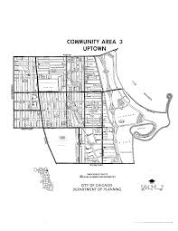 Chicago Community Area Map by Single Family Home Andersonville Ravenswood Uptown