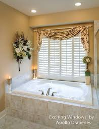 bathroom window curtains window treatment ideas for the bathroom