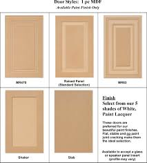 Styles Of Kitchen Cabinet Doors Simple Kitchen Cabinet Styles And Finishes Tikspor