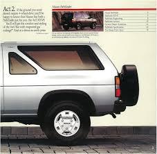 nissan genuine accessories prices 1989 nissan pathfinder dealer brochure nicoclub