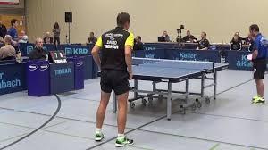 Bad Hamm 2 Bundesliga Table Tennis Petr David Cze Tv Hilpoltstein Vs Damien