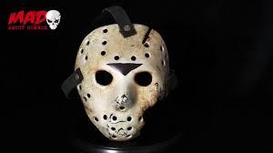 jason mask halloween auz jason hockey mask part 7 youtube