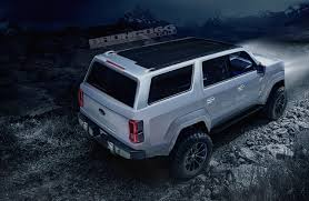 How Much Is The 2016 Ford Bronco 4 Door 2020 Ford Bronco Concept Isn U0027t Real Still Awesome