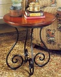 Wrought Iron Accent Table Wood And Wrought Iron Coffee Table Hollywood Thing