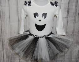 Halloween Costume Ghost Ghost Tutu Costume Etsy