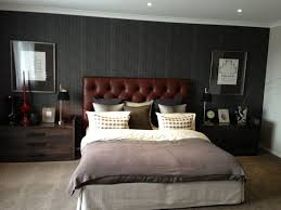 attractive masculine bedrooms design ideas with grey concrete