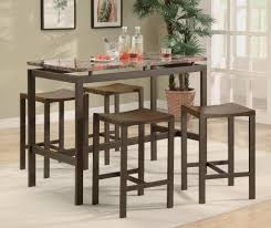 bar stools small marble top bar height dining table set and