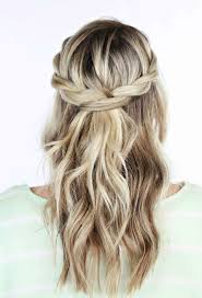 partial updos for medium length hair 22 gorgeous mother of the bride hairstyles