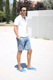 mens light blue shorts which polo to wear with light blue shorts men s fashion