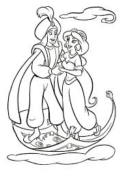 42 best coloring pages images on pinterest aladdin disney