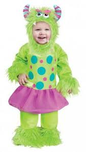 Green Halloween Costume Infant Baby Girls Cute Pink Monster Halloween Costume Baby