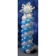 Snowflake Balloons Winter Wonderland Party Ideas