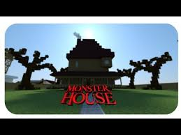 monster house com monster house minecraft project