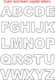 fun alphabet letters coloring page to print letter a coloring