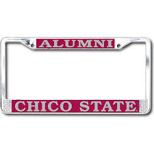 harvard alumni license plate frame california state chico alumni license plate frame