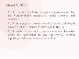 watch vudu from outside usa