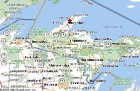 map of calumet michigan area guide