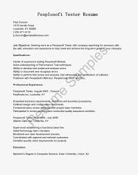 Sample Resume For Government Jobs Peoplesoft Trainer Sample Resume Fedex Security Officer Cover