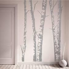 wall stickers oakdenedesigns com silver birch trees vinyl wall sticker oakdene designs 1