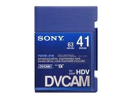 hdv cassette cassette cassette dvcam sur visual impact