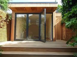 bureau de jardin design design exterieur bureau jardin baies vitrees terrasse exterieure