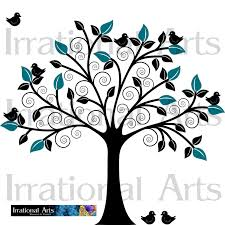 custom listing for joylizsage for swirly tree 1 vinyl ready vector