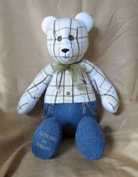 remembrance teddy bears the bears memory bears bears made from loved ones clothing