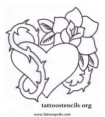 36 gothic heart tattoo designs