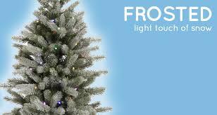 flocked vs frosted trees northpoledecor