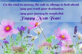 on the road to success the new year wish