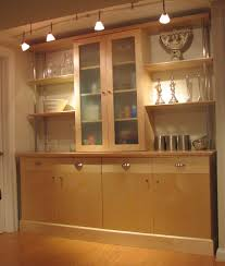 hand made maple kitchen wall unit by scott pennington woodworking