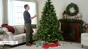 7 5 ft portland pine pre lit christmas tree product review