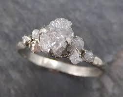 Inexpensive Wedding Rings by Best 25 Raw Diamond Rings Ideas On Pinterest Rings Raw Diamond