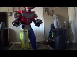 Power Rangers Halloween Costumes Adults Megazord Costume Review