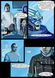Mass Effect Kink Meme - mass effect binary cover page by reaperrain on deviantart