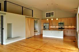 sliding kitchen doors interior w2 after interior perspective showing surface mounted