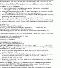 amazing ideas banking resume examples 8 banker resume example