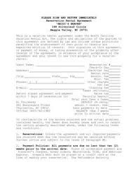 rental lease agreement word template awesome rental lease agreement form images resume samples