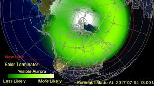 where are the northern lights visible northern lights could be visible tonight in parts of illinois