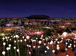 field of light uluru bruce munro announces largest solar powered field of light for ayers