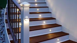 stair rail height lighting step fascinating stair rail height