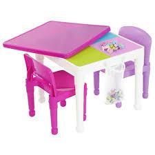 tot tutors table chair set tot tutors 2 in 1 pink girls plastic building block compatible