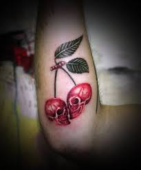 skull cherry by koraykaragozler on deviantart